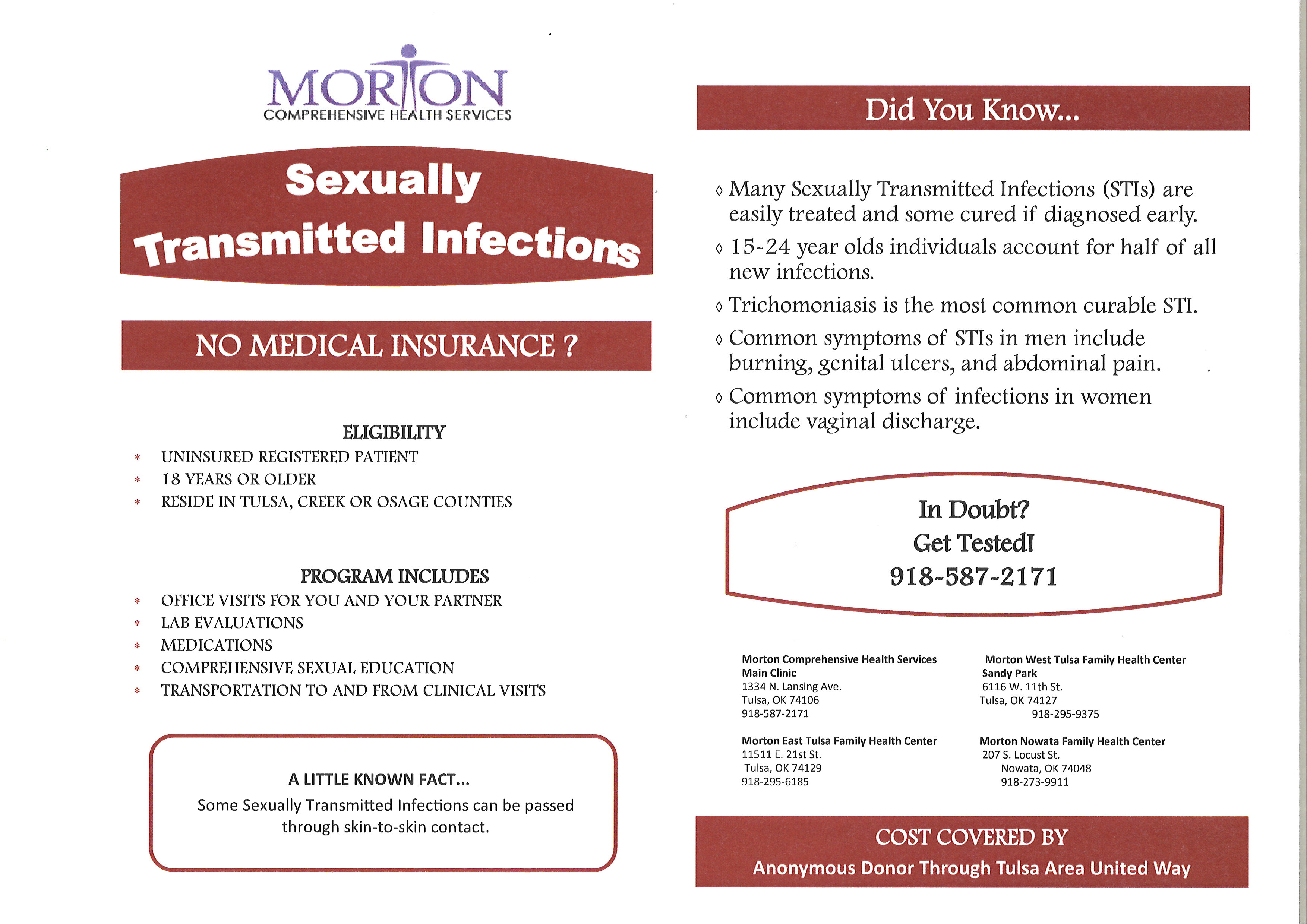 Communications   Morton Comprehensive Health Services